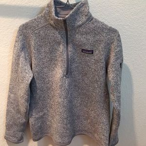 Patagonia better sweater never worn size M